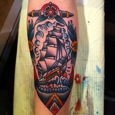 Traditional style ship for papa? It's an idea...