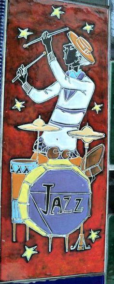 Azulejo Jazz - Escadaria Selarón
