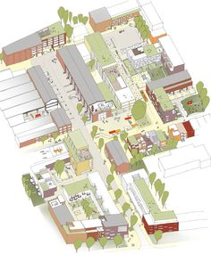 1st Prize: Conversion of factory premises in Ottensen