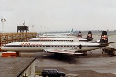 British European Airways - DeHavilland Comet 4