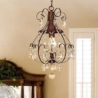 Shop for Copper Grove Lutea Brushed Oak Teardrop Crystal/ Wood Chandelier. Get free delivery On EVERYTHING* Overstock - Your Online Ceiling Lighting Store! Get in rewards with Club O! Victorian Home Decor, Victorian Homes, Muebles Estilo Art Nouveau, 5 Light Chandelier, Country Chandelier, Candle Chandelier, Pendant Lights, Wheel Chandelier, Farmhouse Chandelier
