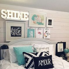 Teen Girl Bedrooms - A superb bit of bedroom decor ideas and examples. For additional satisfying teen girl bedroom styling info simply pop to the link to read the post example 2345957227 immediately. Teenage Girl Bedrooms, Teenage Room, Girls Bedroom, Girl Rooms, Kid Bedrooms, Dream Rooms, Dream Bedroom, Home Decor Bedroom, Bedroom Ideas
