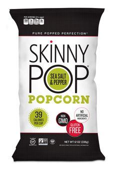 Skinny Pop Sea Salt and Pepper Popcorn 12 oz. JUMBO Warehouse SIZE #SkinnyPopPopcorn