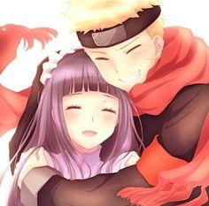 Naruto and Hinata - NaruHina ♡ - ♡ Anime Naruto, Naruto Shippuden Sasuke, Himawari Boruto, Naruto Und Hinata, Narusaku, Naruto Cute, Hinata Hyuga, Naruhina Doujinshi, Gaara