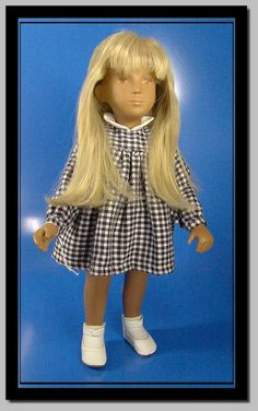 "Laura - one of the fifty dolls - all fifty produced were sold. She was produced for ""The Walt Disney Doll and Teddy Fair of"