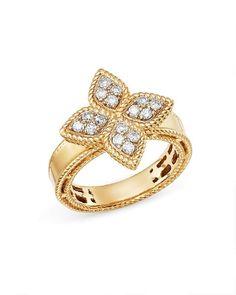 Roberto Coin 18k Diamond & Emerald Dragon Ring, Size 6.5