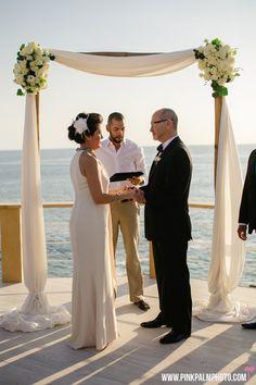Elegant Black & White Wedding at Sunset da Mona Lisa @ Momentos Weddings and Events