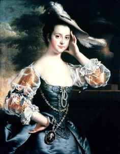 Susanna Hope, 1771, by Joseph Wright of Derby