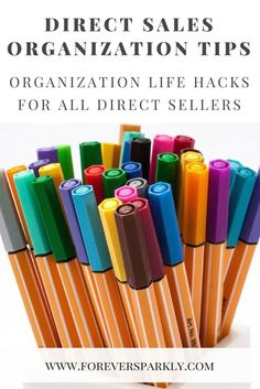 Need ways to get your direct sales business organized? Click to read direct sales organization lifehacks to boost your business confidence! via @owlandforever