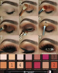 Visit the webpage to see more about eye makeup products Glam Makeup, Love Makeup, Makeup Inspo, Eyeshadow Makeup, Makeup Inspiration, Beauty Makeup, Hair Makeup, Eyeshadows, Make Up Palette