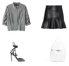 """""""Senza titolo #754"""" by annadallolio ❤ liked on Polyvore featuring Dsquared2, Relaxfeel, Pierre Hardy and Mansur Gavriel"""