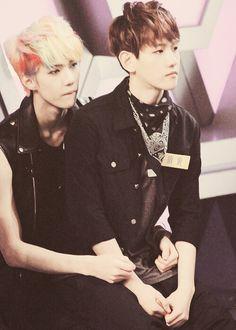 exo sehun and baekhyun