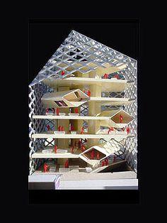 Prada Epicentre in Tokyo, Herzog & de Meuron. 2003  #architecture #demeuron #herzog Pinned by www.modlar.com