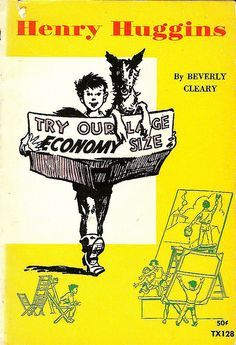 Henry Huggins - Beverly Cleary, illustrated by Louis Darling Kids Chapter Books, Best Children Books, Childrens Books, Cool Books, I Love Books, My Books, Book Club Books, Book Lists, Book Art