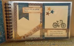 Great road trip activity book - Snips, Snaps, and Scraps: June Stamp of the Month Blog Hop