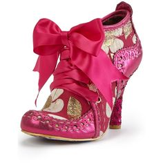 Irregular Choice Abigail'S Third Party Boot (£95) ❤ liked on Polyvore featuring shoes, boots, ankle booties, floral print boots, irregular choice booties, irregular choice boots, floral booties and sequin booties