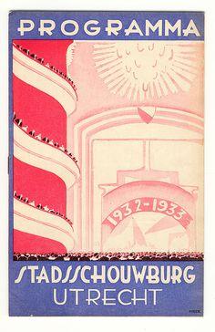 Programma Stadsschouwburg Utrecht; Henri Pieck 1932