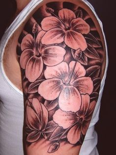 Flower Tattoo Gallery Part 6 #tattoo #flower