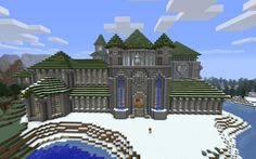 Googles billedresultat for http://4.bp.blogspot.com/-NAjiGOro_2U/UAqm4JRac_I/AAAAAAAAAos/DOFknsLwB0A/s1600/Magnificent%2BMedieval%2BMinecraft%2BCastle.jpg