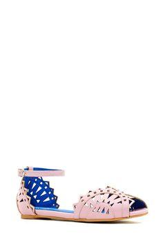 Jeffrey Campbell Picado Flat - Pink