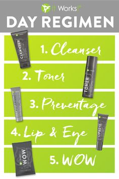 Yes! You finally found it—your perfect day regimen ! Now that's something to smile about! #SkinCare