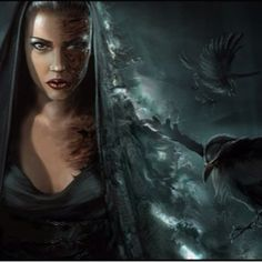 Hel, Norse goddess of the underworld