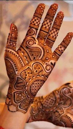 Circle Mehndi Designs, Floral Henna Designs, Legs Mehndi Design, Back Hand Mehndi Designs, Stylish Mehndi Designs, Mehndi Designs Book, Mehndi Designs For Beginners, Mehndi Design Photos, Wedding Mehndi Designs