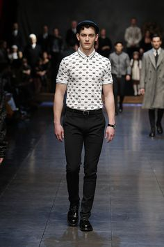 b5de3fd9647d0 Dolce Gabbana Winter 2016 Men s Fashion Show Men Fashion Show, Men s Fashion,  Runway Fashion,