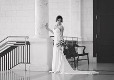 bridal portraits by