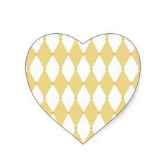 Harlequin Diamond Pattern Sticker