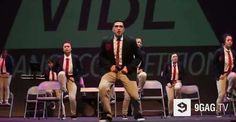 This Dance Routine Is So Impressive That It Looks Unreal  | 9GAG.tv