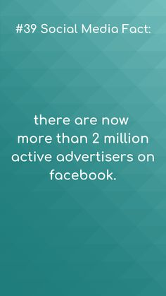 Social media facts Now that& a lot of active users!