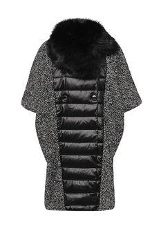 Пальто Bosideng выполнено из фактурного текстиля с содержанием натуральной шерсти. Особенности: с...