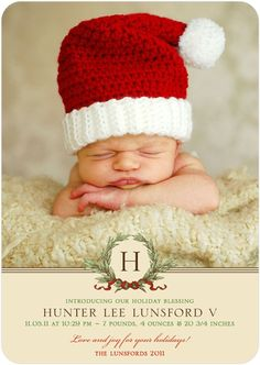 merrier newborn first christmas birth announcement baby announcements pinterest birth babies and twin birth announcements
