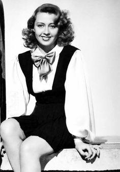 """littlehorrorshop: """"Joan Blondell for Two Girls On Broadway, 1940 """""""