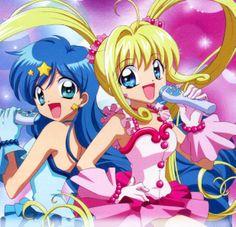 Lucia Nanami and Hanon Hosho Mermaid Melody Mermaid Melody, Mermaid Princess, I Love Anime, Awesome Anime, Anime Mermaid, Sailor Moon Art, Merfolk, Animation, Anime Shows