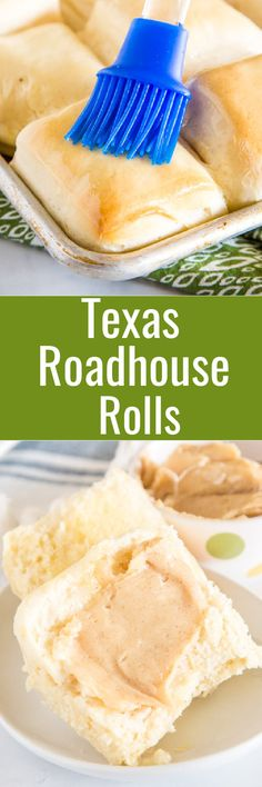 Texas Roadhouse Rolls - super soft and fluffy dinner rolls just like at Texas Roadhouse. Complete with cinnamon honey butter for a delicious side dish with any meal. Breakfast Recipes, Snack Recipes, Dessert Recipes, Cooking Recipes, Dinner Recipes, Fluffy Dinner Rolls, Best Homemade Bread Recipe, Cinnamon Honey Butter, Best Comfort Food