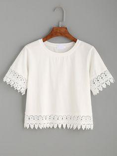 T-Shirt mit Ernte - weiß