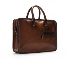 Un Jour | Berluti $3,300. Here's his briefcase for all his notes,and Bible for when he preaches