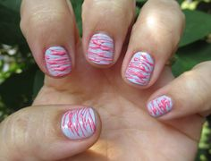 Spun Sugar Nails