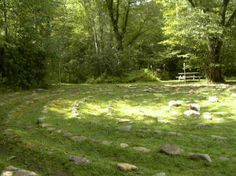 outdoor Labyrinth at the Otto Labyrinth Park
