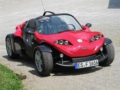 MINI Cooper S Cabrio Secma F16 Raodster Cabrio - Buggy smart