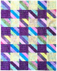 How To Make A Simple Jelly Roll Quilt With A Wow Factor Simply Quilts Patterns Hgtvs Simply Quilts Patterns