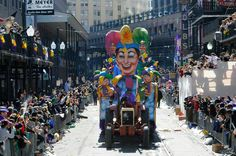 Can you check off every item on our Mardi Gras bucket list? I didn't do too bad on my first time out