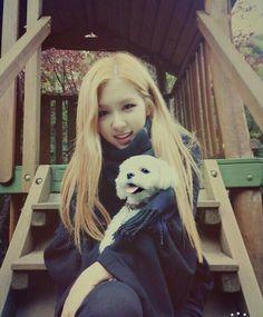 Rô zé with a puppy ♥♥♥