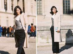 Vanessa Jackman: Paris Fashion Week AW 2014....Nicole