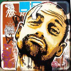 Souriez ! – Le street art par RNST (image)