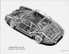PORSCHE 356 SC - by Shin Yoshikawa