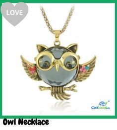 Owl Necklace for more details visit http://coolsocialads.com/owl-necklace-54924