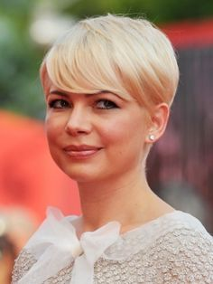 Image detail for -Michelle Williams Blonde Pixie Haircut - Michelle Williams Hairstyles ...
